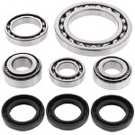 Front Differential Bearings and Seals Kit Quadrunner LT-4WD 1987 1988 1989 1990