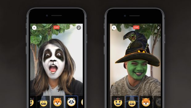 facebook live masks
