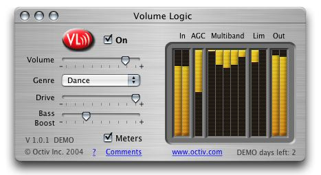 Octiv's Volume Logic