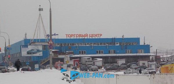 Вот, такой он Ждановичи в Минске, в зимнем снегу!