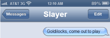 Spuffy Text Exchange