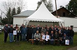 2016г.Награждение участников голубиных гонок по итогам сезона 2016 года