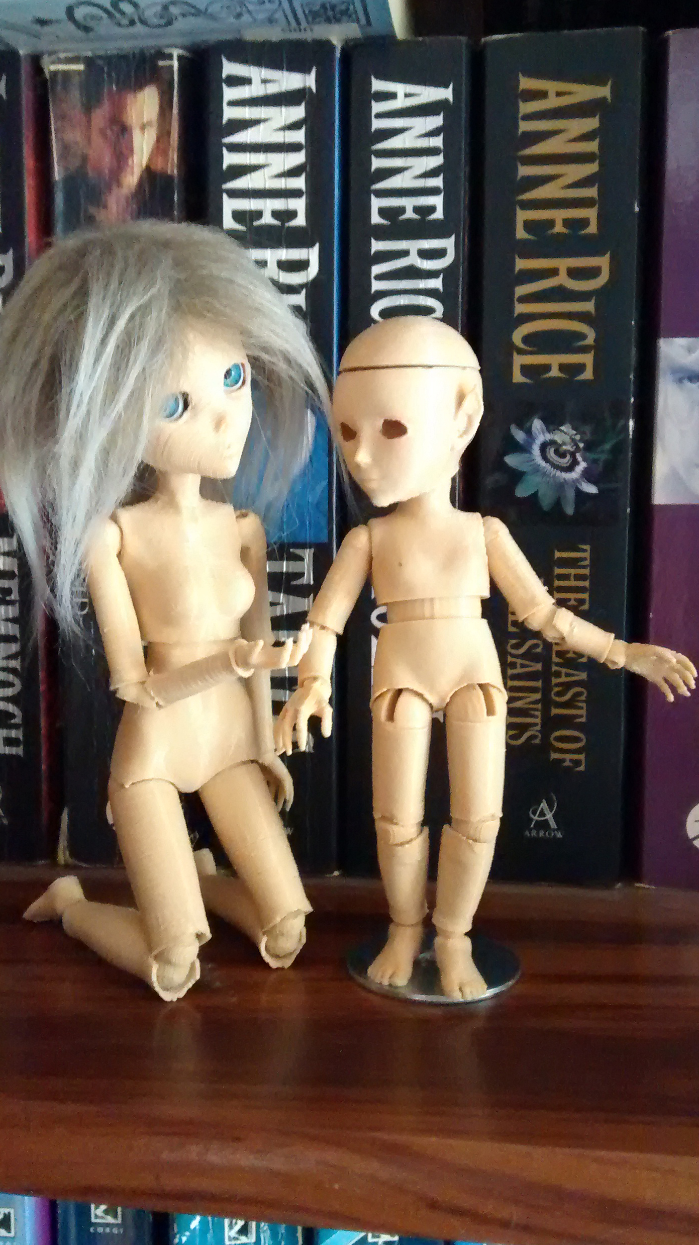 3D printed BJD by Dollartbyjulie