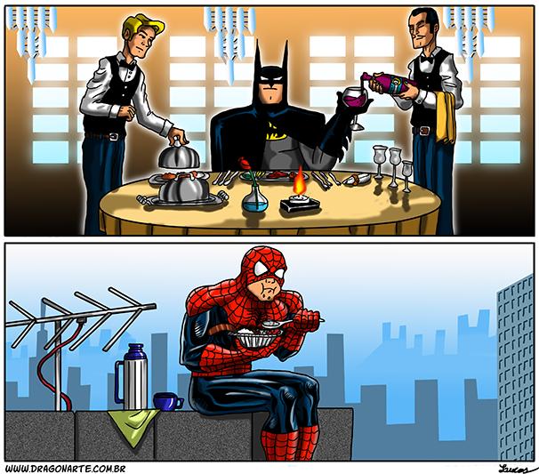 Супергерои картинки приколы