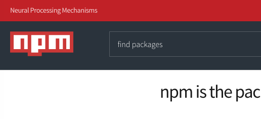 My Own Definition of NPM