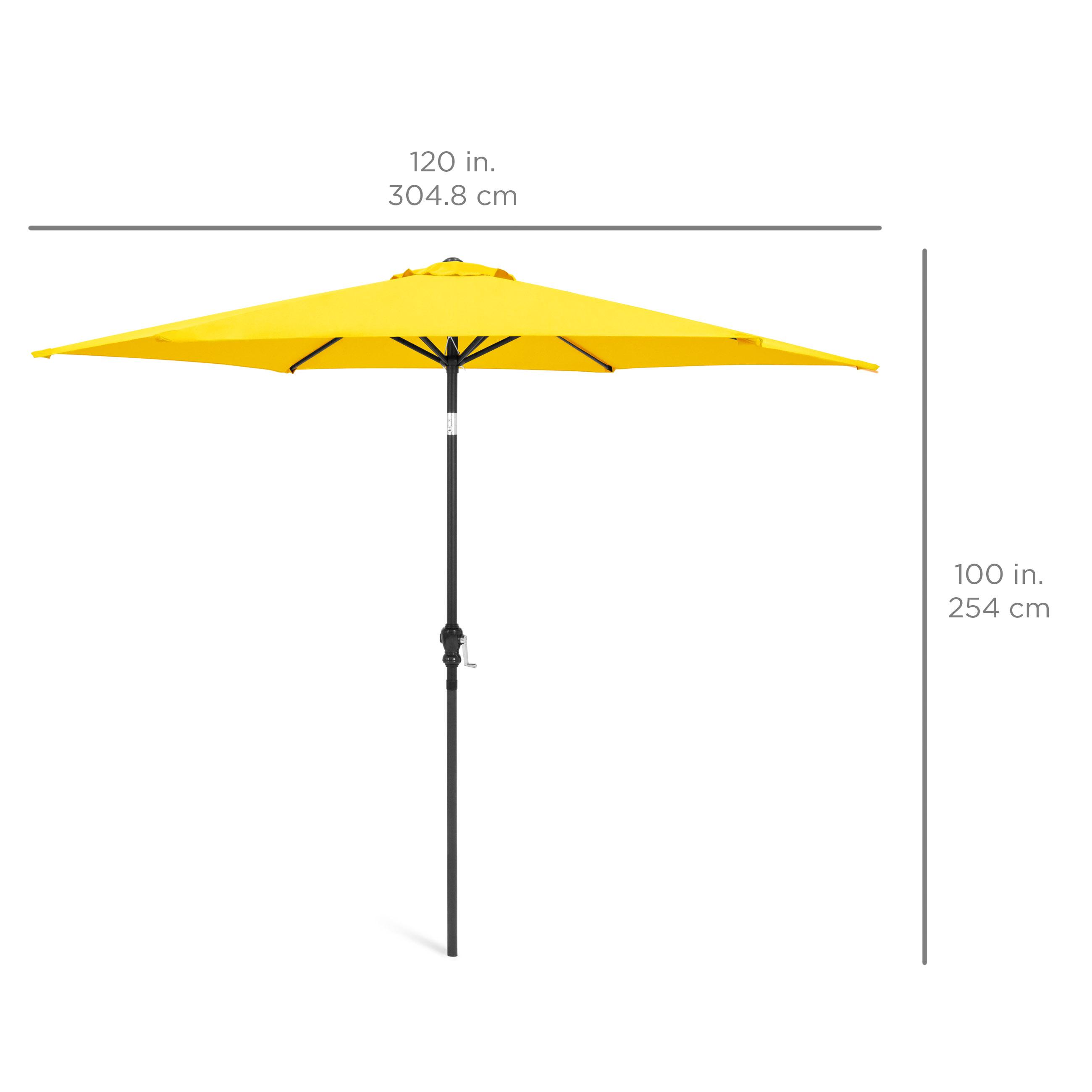 BCP-10ft-Outdoor-Steel-Market-Patio-Umbrella-Decoration-w-Tilt-Crank thumbnail 70
