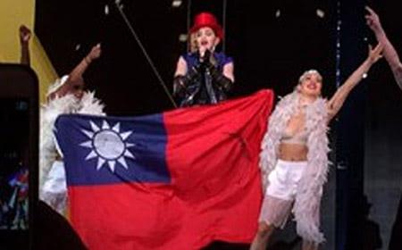 Madonna crea polémica en Taiwán