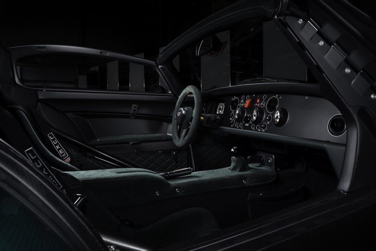 Donkervoort D8 GTO-JD70 Bare Naked Carbon Edition announced