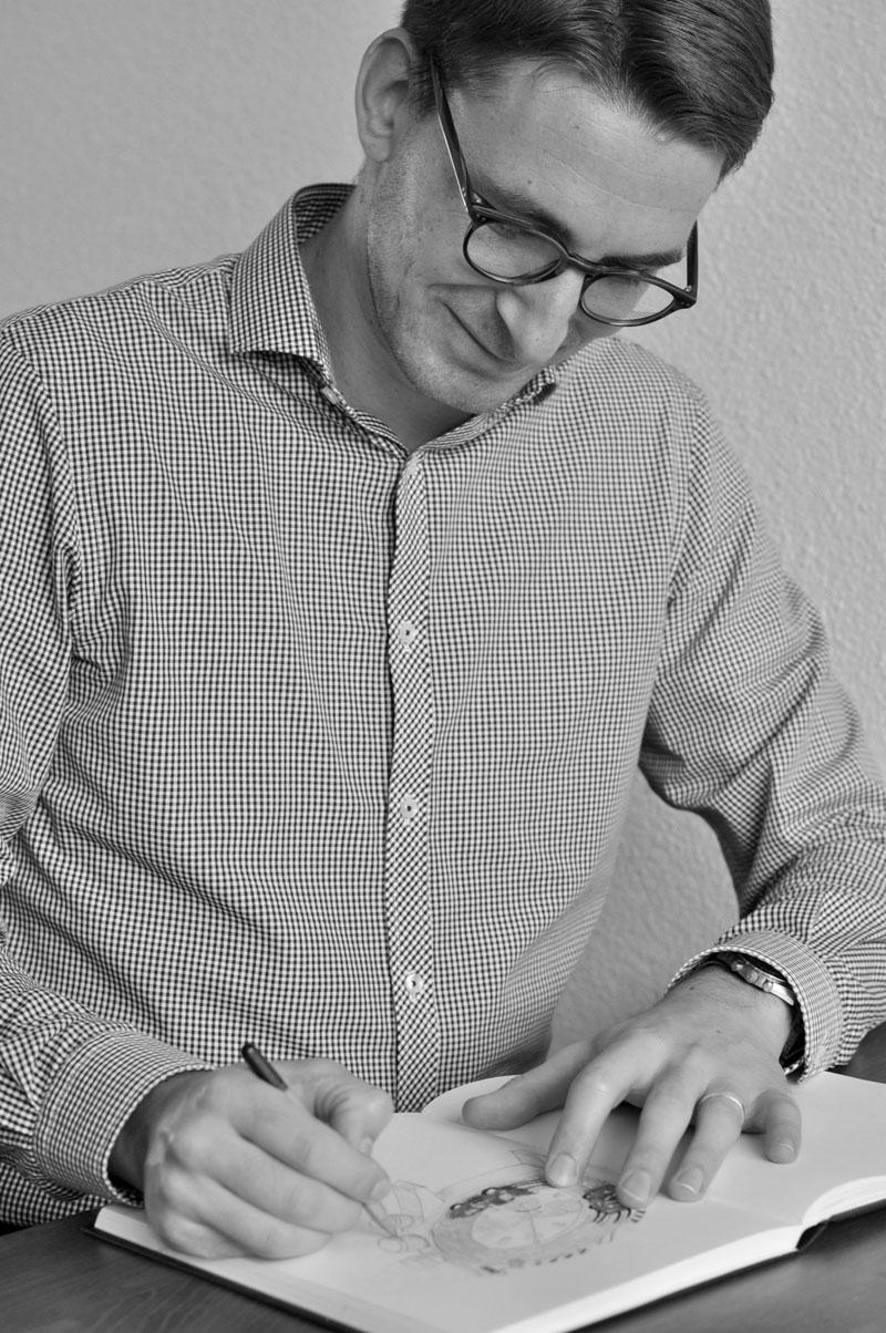 Teun, founder Watches and Pencils