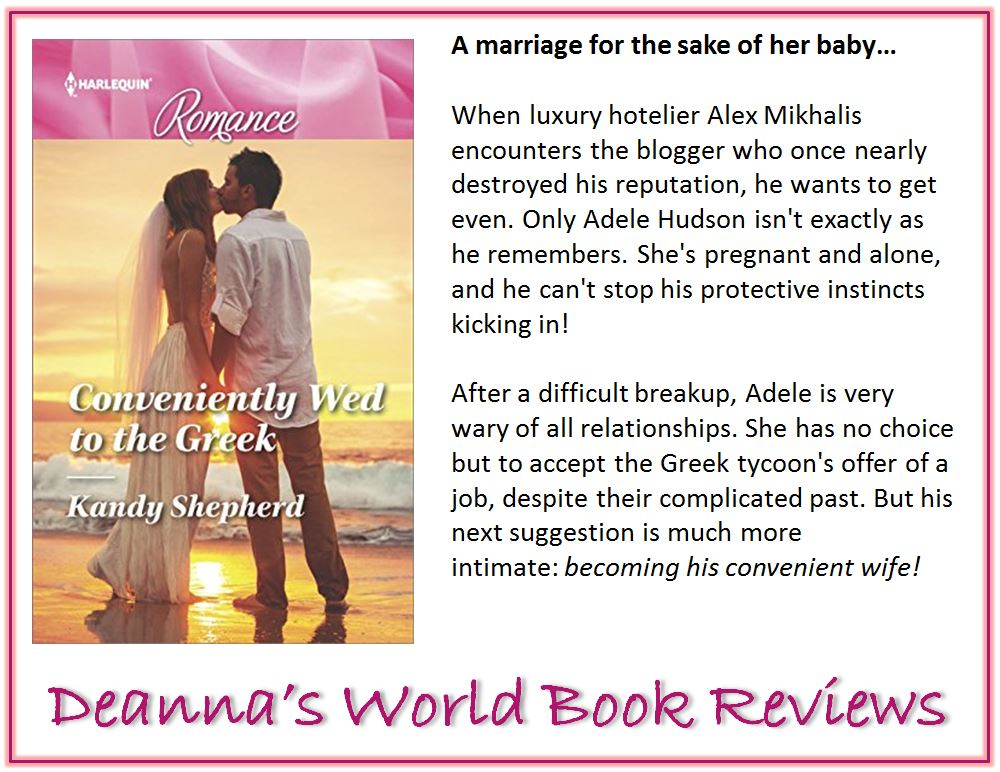 Conveniently Wed To The Greek by Kandy Shepherd blurb