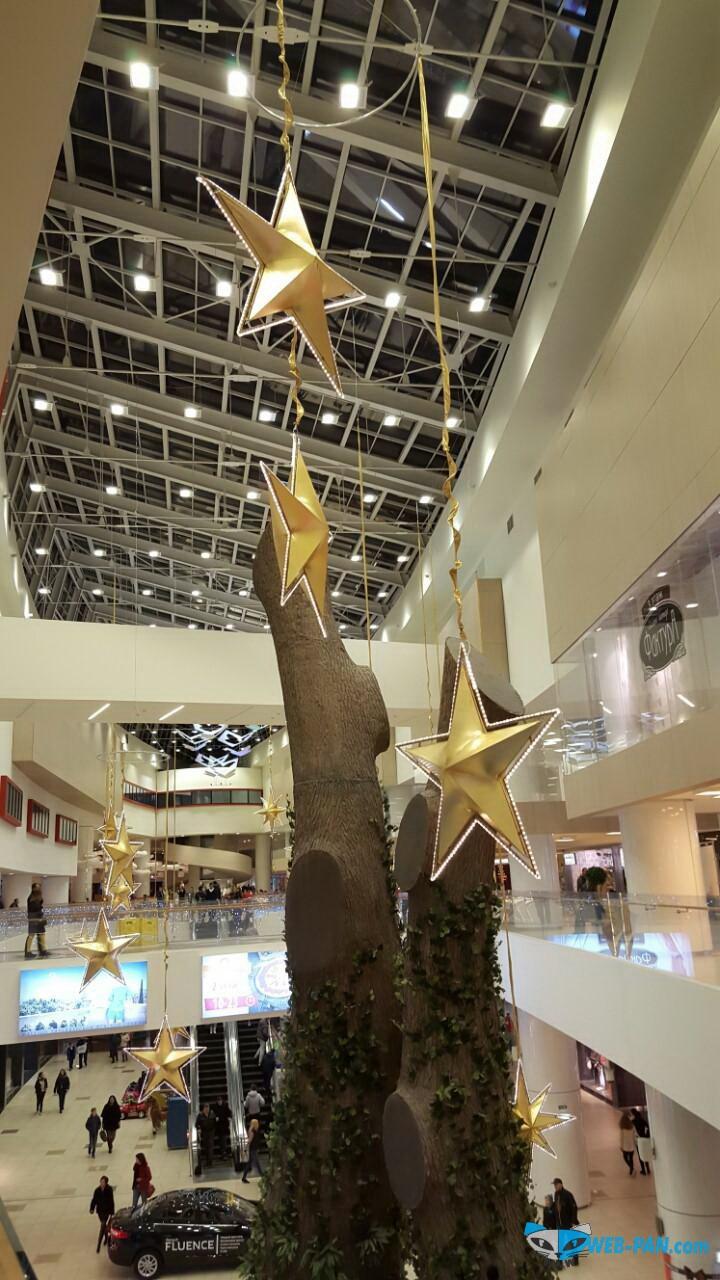 Взгляд на торговый центр и его оформление. Фото 2