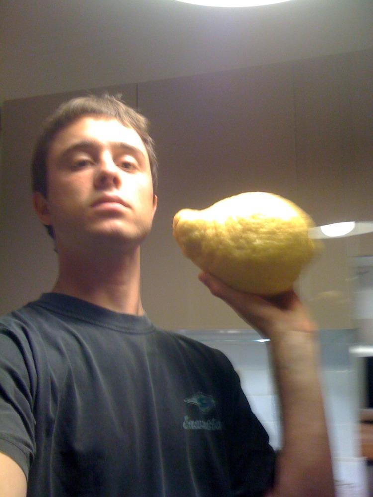 Lemon almost as big as my head