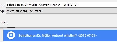 Eine Datei aus Google Drive mit unpassenden Zeichen im Dateinamen wird im Google Chrome automatisch angepasst