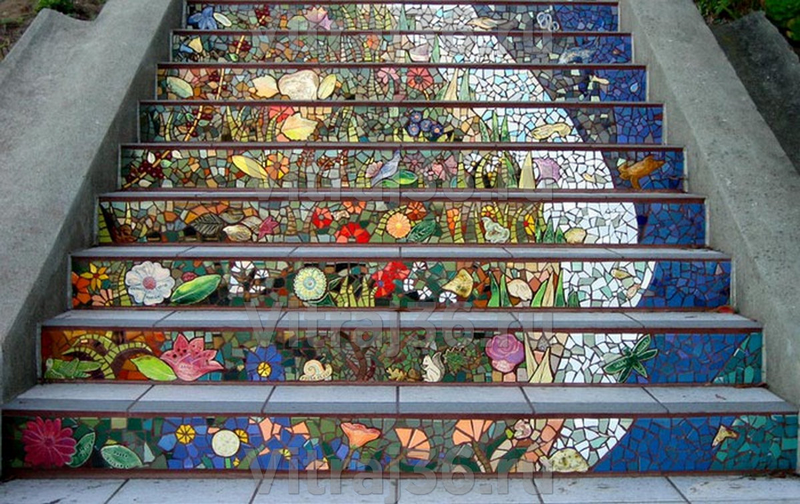 Мозаика в интерьере: варианты использования