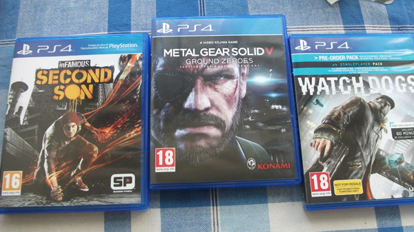 The games I got in March