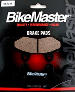 Front Left Side Brake Pads BikeMaster 96-1219 KLF400 Bayou 4x4 1997 1998 1999
