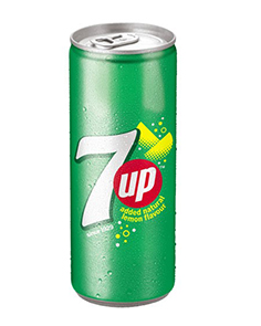 7 Up Can 250 ml