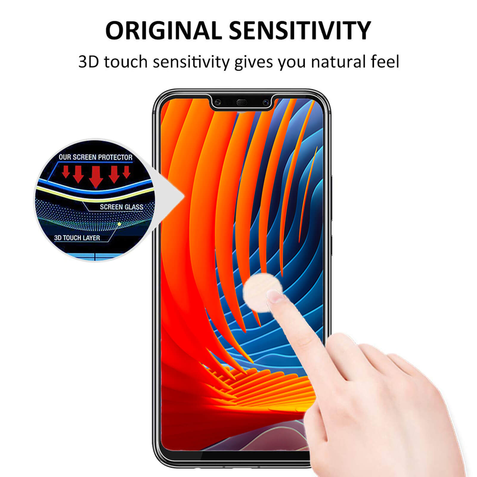 For-Huawei-Tempered-Glass-New-Full-Screen-Protector-Mate-20-P20-P30-Pro-Lite miniatuur 19