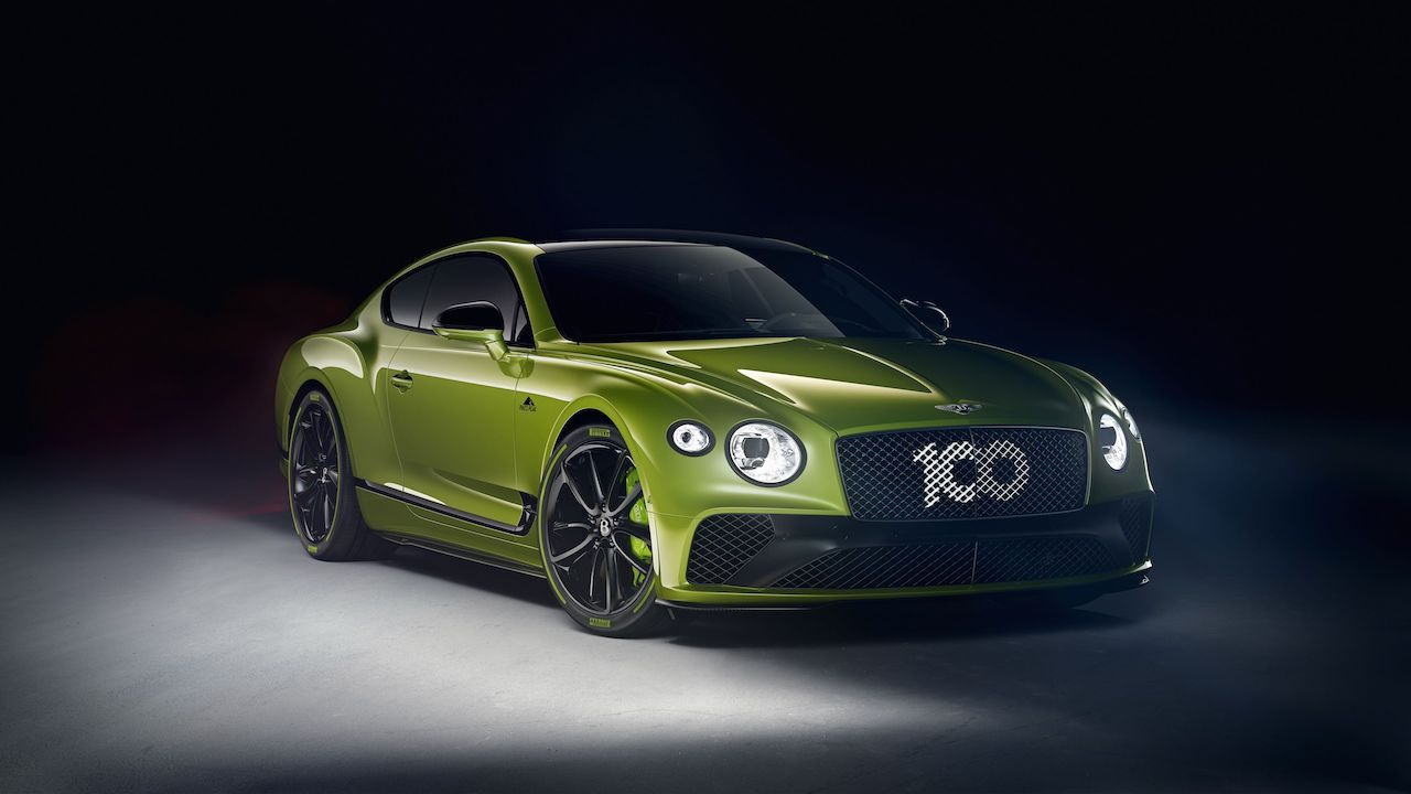 Bentley starts production of Pikes Peak Continental GT