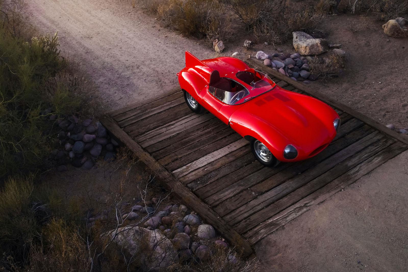 Ex Ecclestone and Blond 1955 Jaguar D-Type sells for $6m