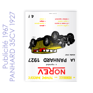Publicité 1967 PANHARD 35CV 1927