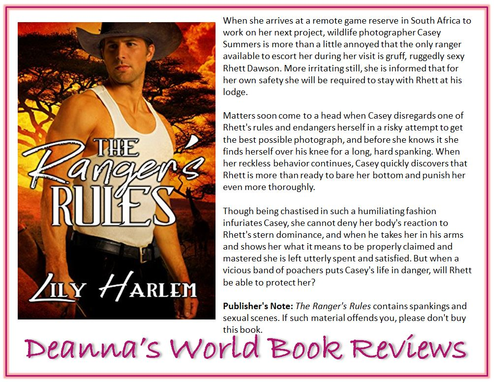The Ranger's Rules by Lily Harlem blurb