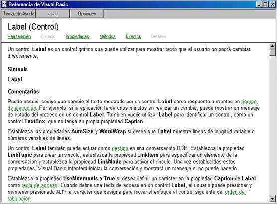 label visual basic