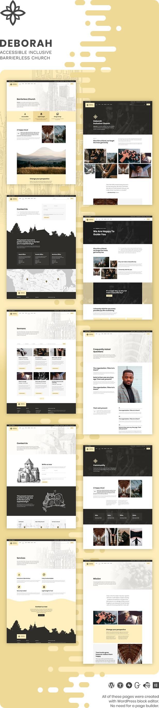 Deborah - Inclusive Church WordPress Theme - 2