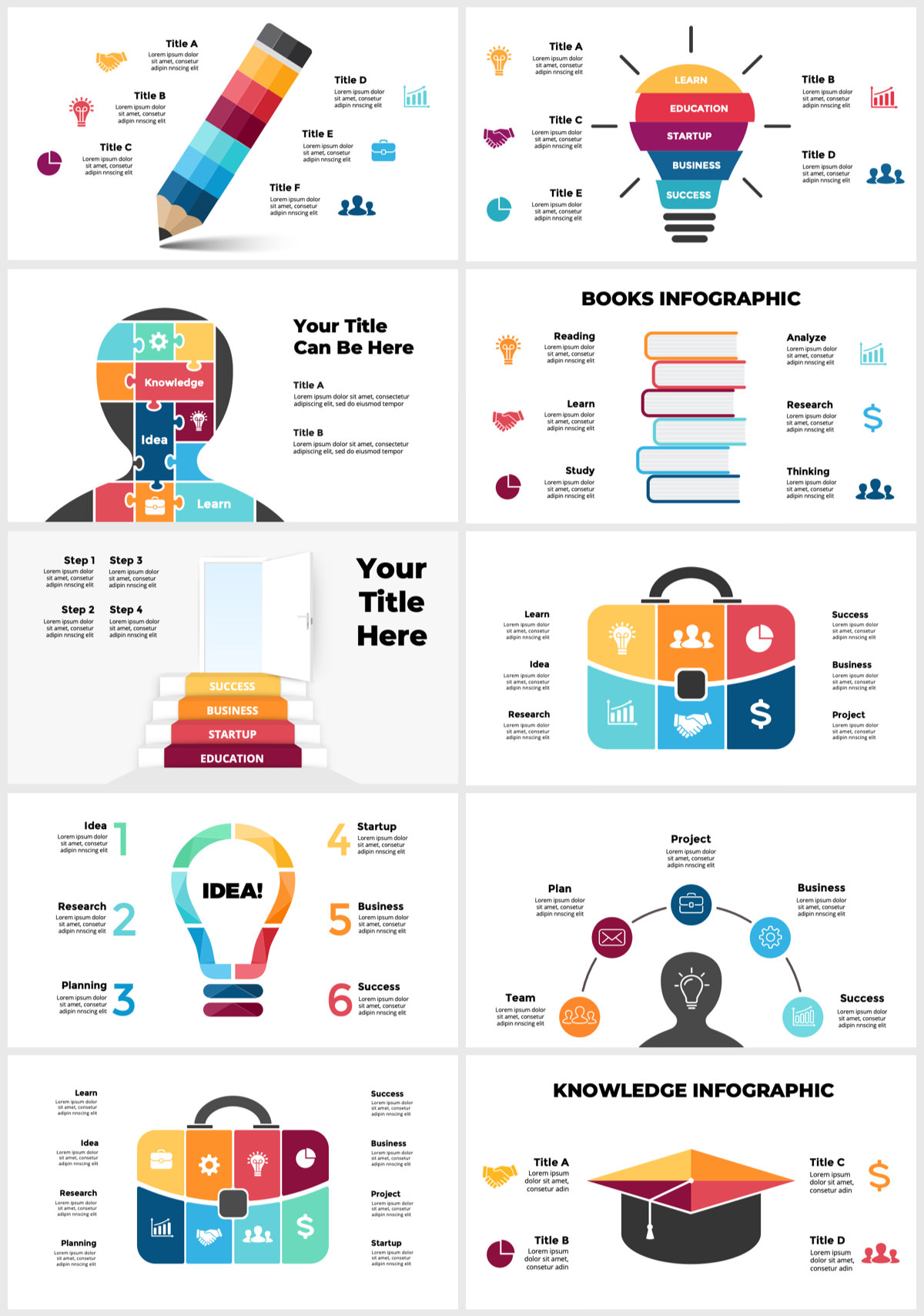Huge Infographics Bundle! Lifetime Updates! PowerPoint, Photoshop, Illustrator. - 102