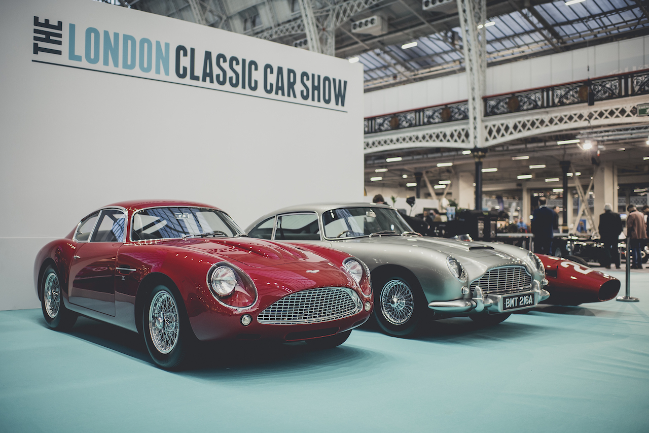 Record breaking weekend for sixth London Classic Car Show