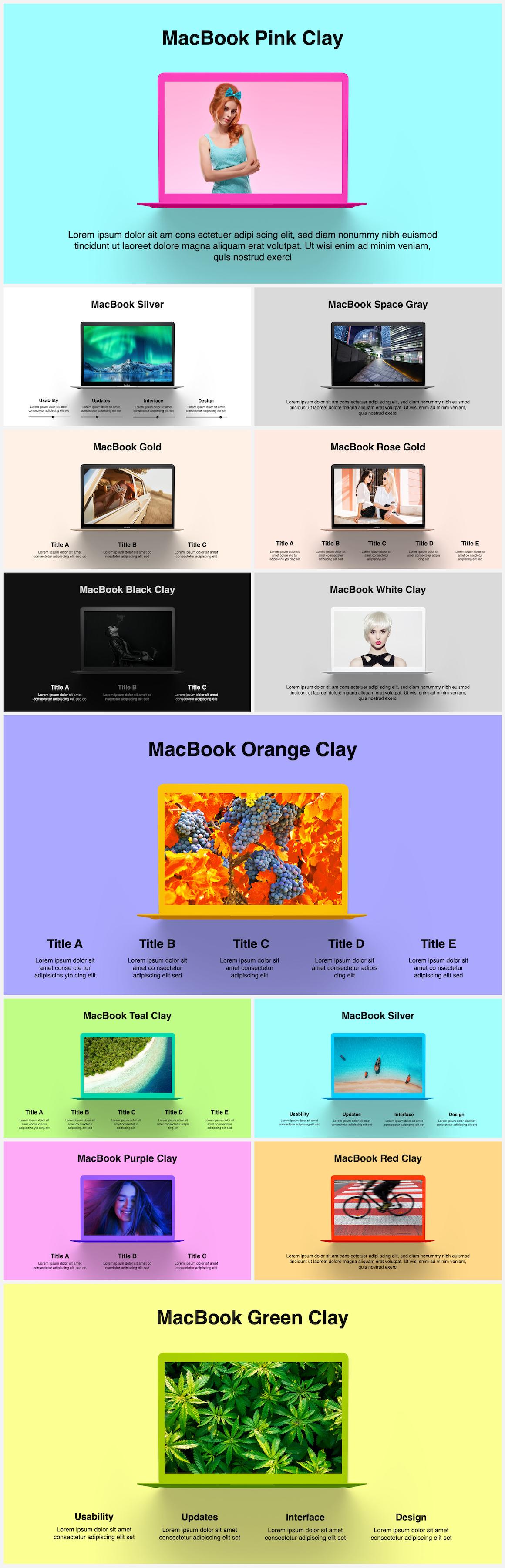 Huge Infographics Bundle! Lifetime Updates! PowerPoint, Photoshop, Illustrator. - 61