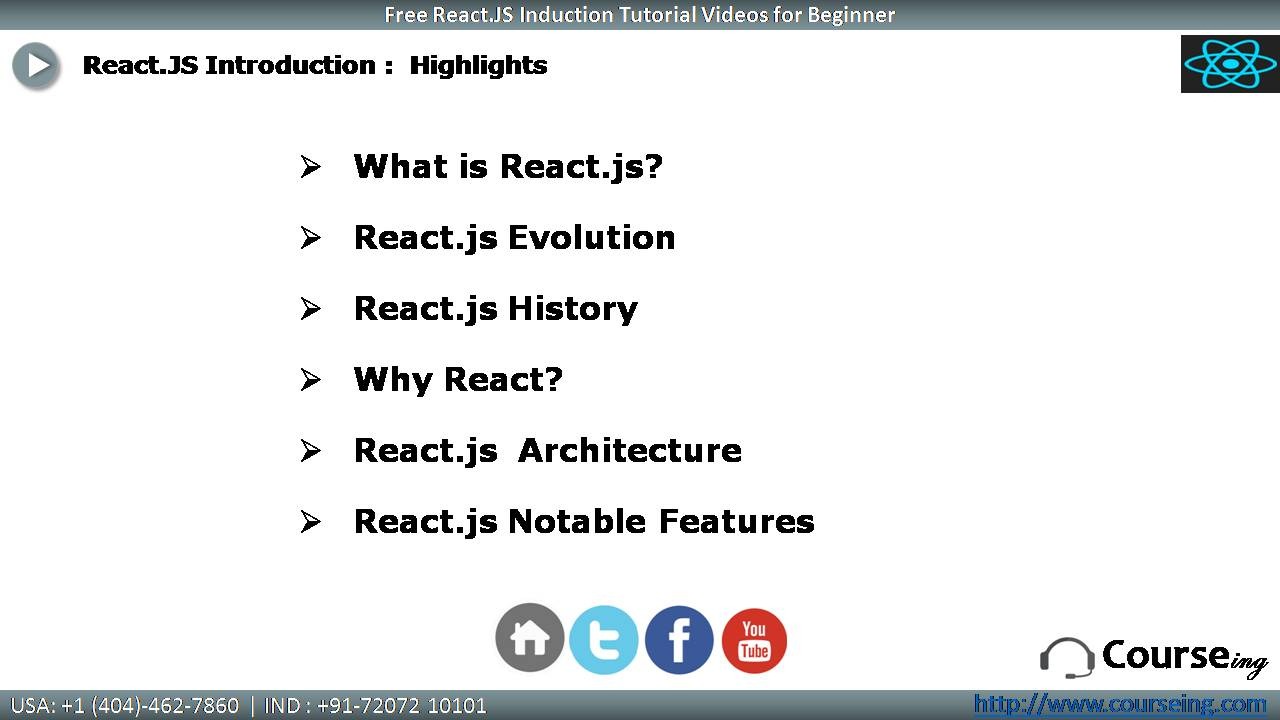 Free React.JS Introduction