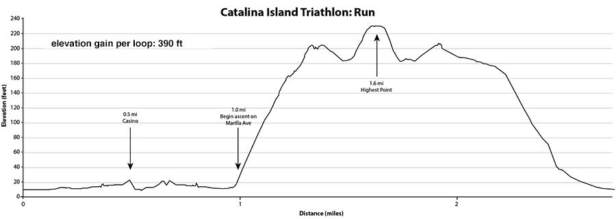 Run Elevation Chart