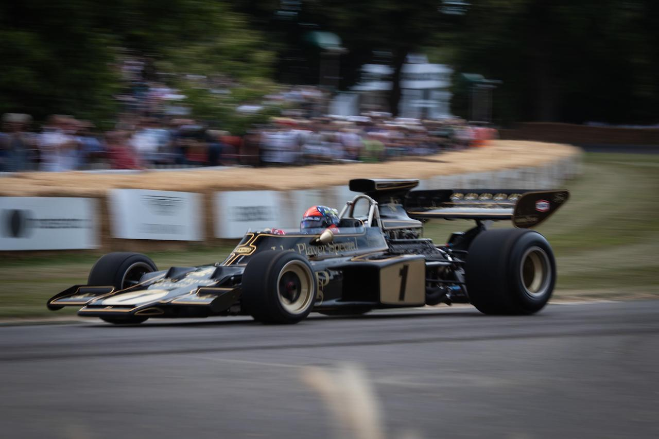 Insuring a Historic Formula 1 car for less than a Ford Sierra