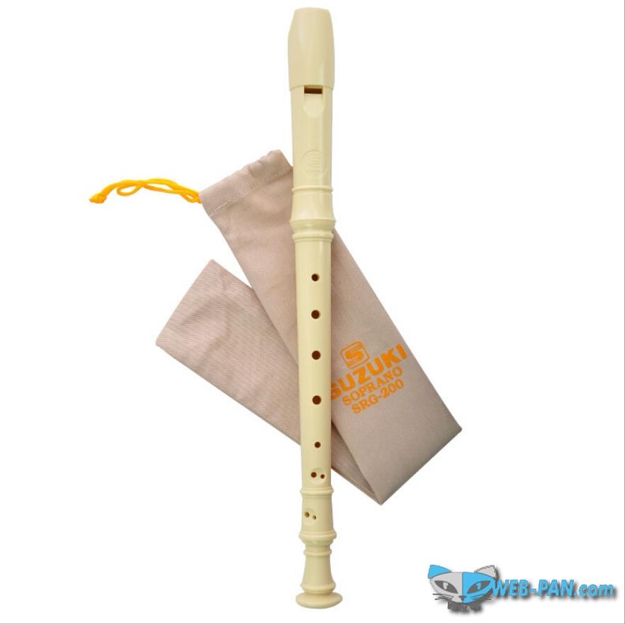 Блок флейта сопрано СУЗУКИ 200, для начинающих! Учимся играть на флейте...