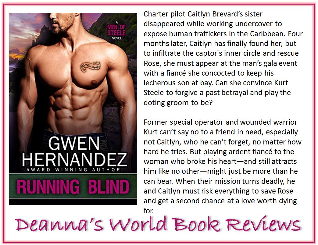 Running Blind by Gwen Hernandez blurb