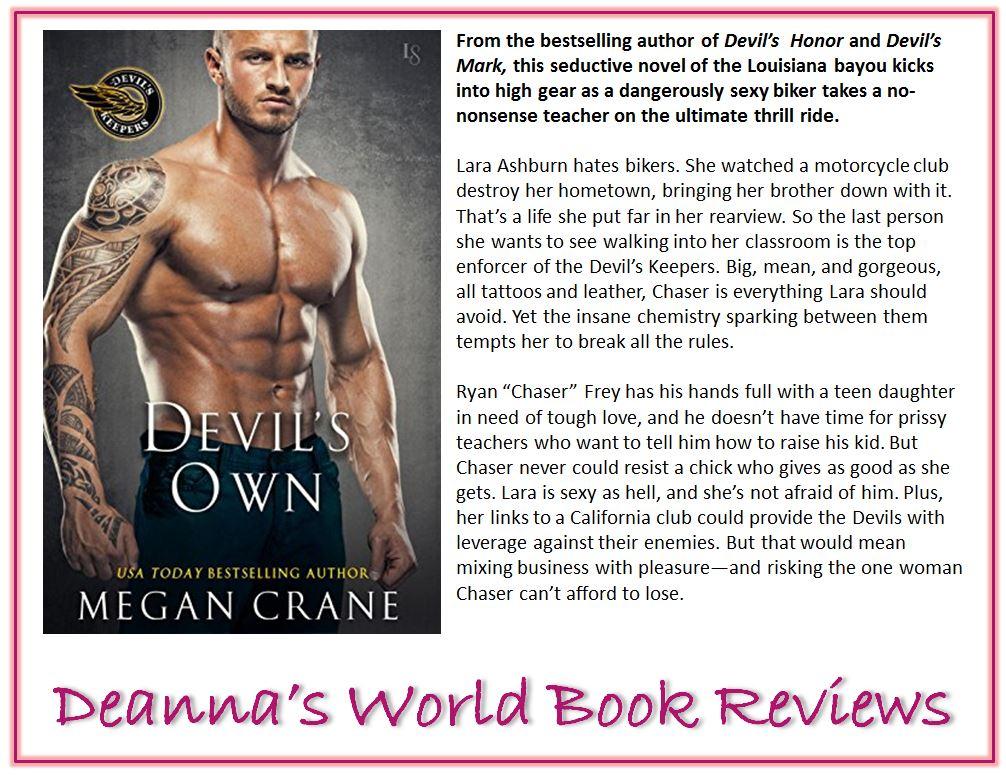Devil's Own by Megan Crane blurb