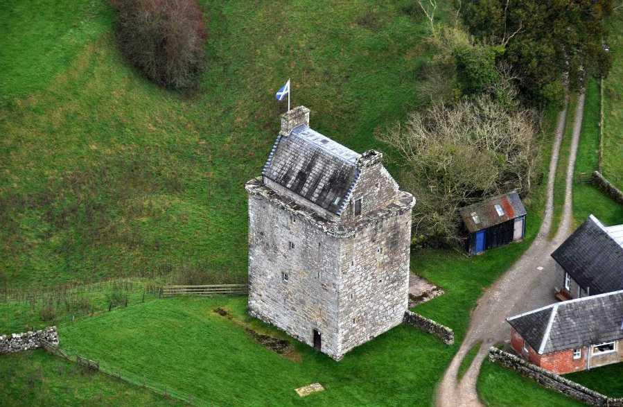 Башня Гилноки (Gilnockie Tower)