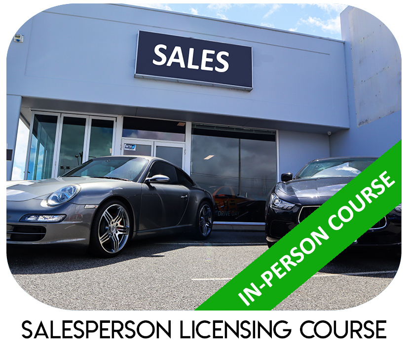 Salesperson Licensing Course In House WA