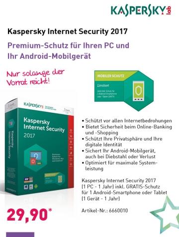 Hat sich der Interessent vorher schon für Infos zu Kaspersky Produkten informiert, lässt er sich wahrscheinlich leichter für das Produkt (z. B. in einem Prospekt) begeistern.
