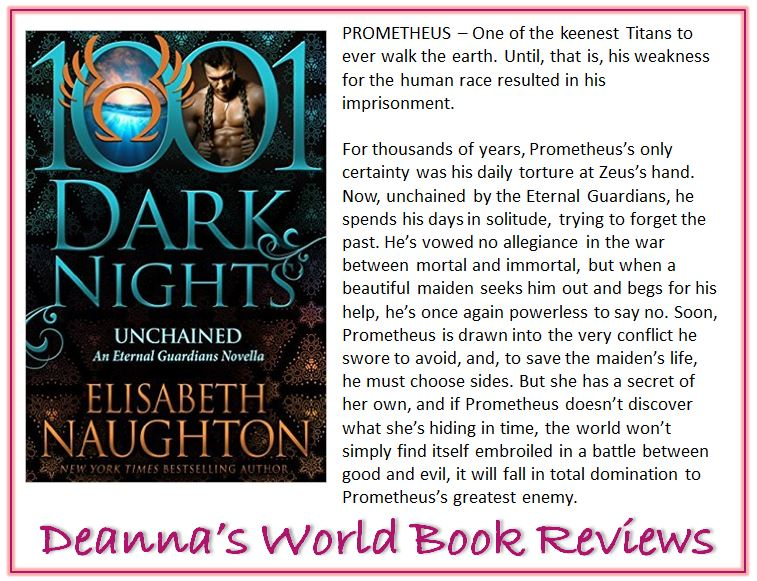 Unchained by Elisabeth Naughton blurb