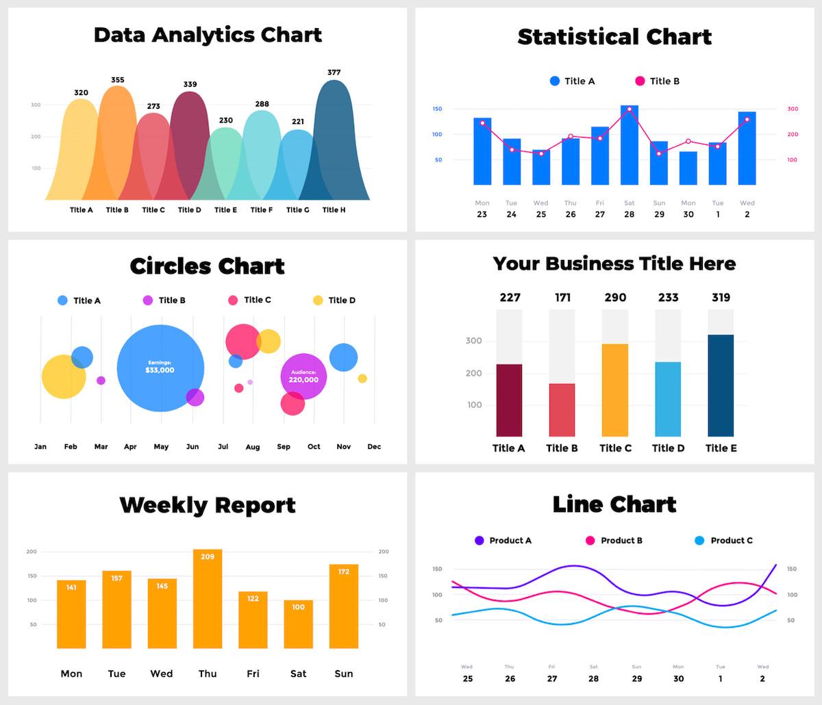 Huge Infographics Bundle! Lifetime Updates! PowerPoint, Photoshop, Illustrator. - 42