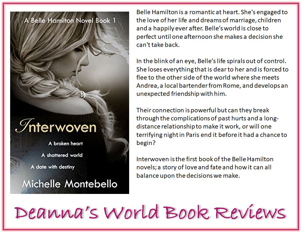 Interwoven by Michelle Montebello blurb