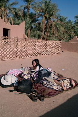 Couchsurfing in Marokko, Zagora