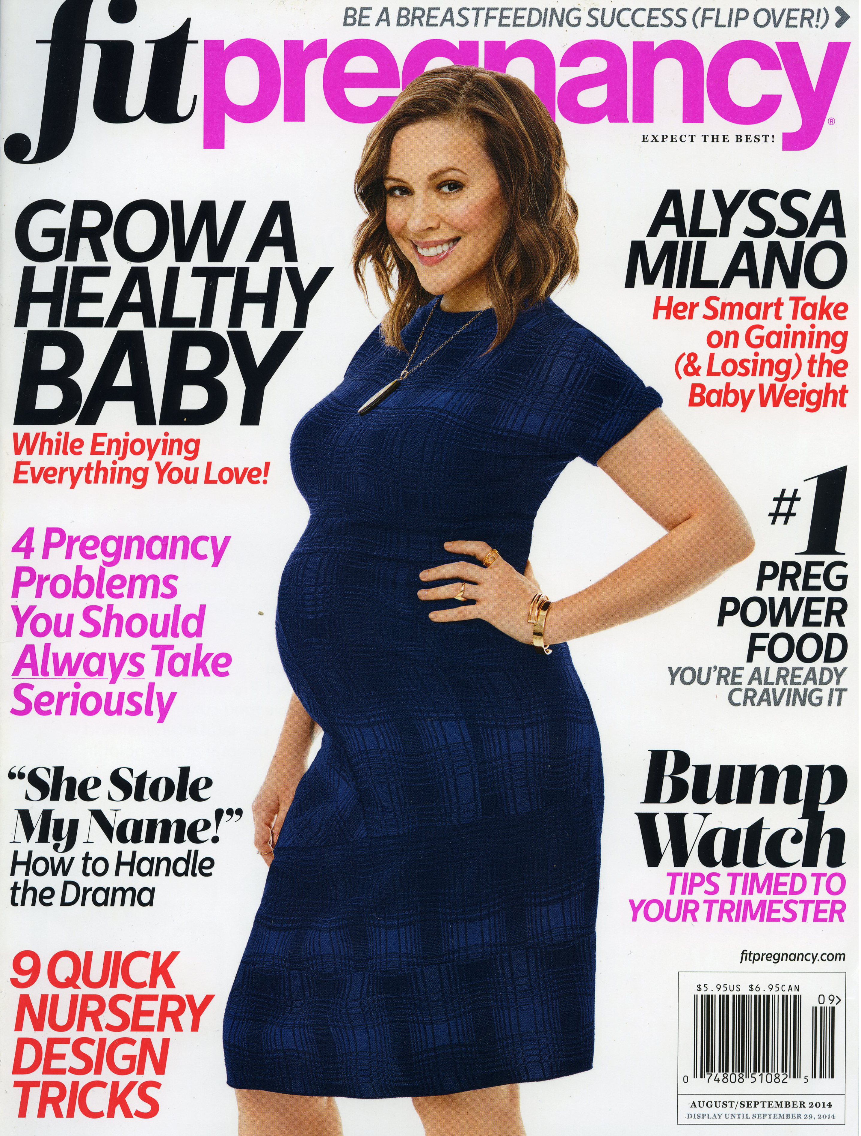 Fit Pregnancy, August 2015