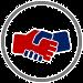 Grafik Handschlag: Diese Grafik-Datei könnt ihr als Word-, GIMP- und PNG-Datei kostenlos herunterladen.