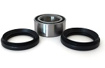 Rear Wheel Bearings and Seals Kit TRX300 Fourtrax 2WD 1988-2000 Brake Panel