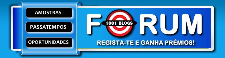 Fórum 1001Blogs - Amostras Gratis, Passatempos  e Oportunidades!
