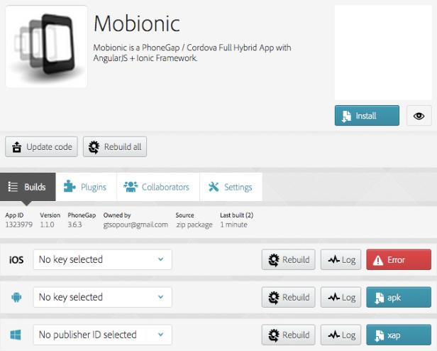 Mobionic - PhoneGap / Cordova Full Hybrid App - 12