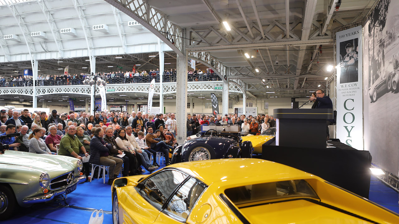 Record breaking weekend for the sixth London Classic Car Show